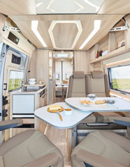 Bobiler DREAMER LIVING VAN - Salong